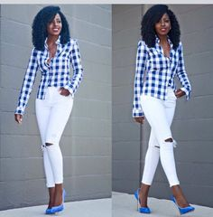 Stylish checkered shirt