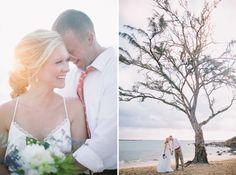 Hawaii sunrise wedding