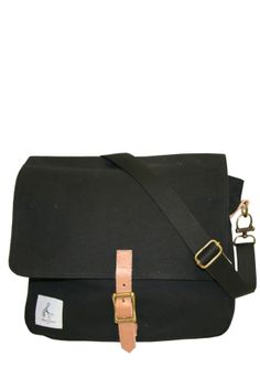 Houlihan Canvas Messenger Bag