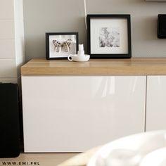 IKEA BESTA hack met eiken plank | Emi.frl | Scandinavisch wonen