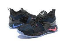 online retailer a6b11 3a5eb Where To Buy Nike Zoom Paul George Mens Original Nike PG 2 Playstation  Black Dark Blue Pink White. Kyrie Irving  11 · Basketball Shoes