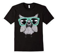 Men's Cute Owl 2XL Black Unknown…