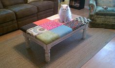 Coffee Table Makeover from Craft Chickie
