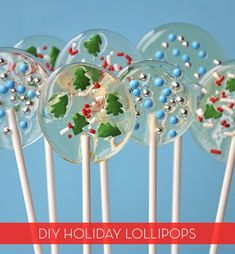 How To: Make Easy Homemade Holiday Lollipops