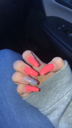 How to choose your fake nails? - My Nails Summer Acrylic Nails, Best Acrylic Nails, Acrylic Nail Designs, Pink Acrylics, School Nails, Aycrlic Nails, Coffin Nails, Nagellack Trends, Fire Nails