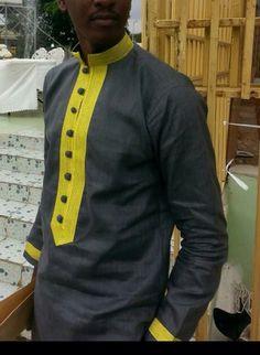Mens Wear African fashion dashiki by FashionForSpecialMen on Etsy African Wear Styles For Men, African Attire For Men, African Clothing For Men, African Shirts, African Men Fashion, Africa Fashion, Mens Fashion, Fashion Suits, Men Design