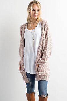 Ariel Twig Cardigan Sweater - Nola Rae Boutique