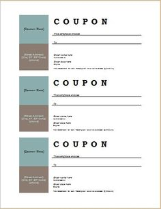 this page contains 50 free and editable coupon templates which you