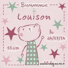 Louison dans les étoiles