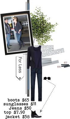 """""""For Less,... classic look"""" by fatal-poison-4-u ❤ liked on Polyvore"""