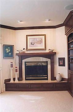 1000 Images About Fireplace Mantels On Pinterest Corner