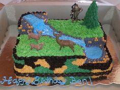hunting themed birthday cake ideas - Google Search                              …