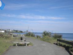 Paritutu and Port Taranaki from the New Plymouth Coastal Walk.