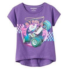 Girls 4-7 Blaze and the Monster Machines Starla Graphic Tee, Girl's, Size: 6X, Purple