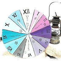 Runde Uhren selbst gemacht ★ wo man das Material herbekommt ★ wie es geht und was man beachten sollte ★ all das verraten wir hier http://kreativ-zauber.de/3-verschiedene-runde-uhren/