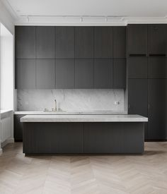 Perfectly minimal kitchen design - via Coco Lapine Design blog