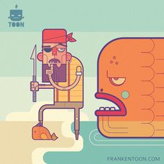 Beardly Morris - The Pirate on Behance