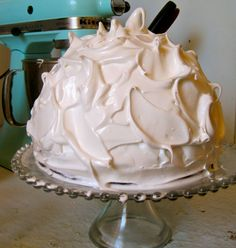 Baked Alaska from The Hunger Games. This blog is all about recipes from books. Pretty nifty.