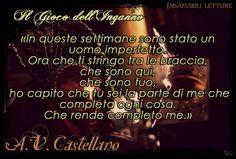 IL GIOCO DELL'INGANNO di Adele Vieri Castellano Leggereditore http://insaziabililetture.forumfree.it/?t=67292442
