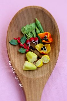 Miniature fruit and vegetables, Stéphanie Kilgast, PetitPlat
