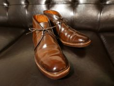 Alden 125th Edition Cigar Shell Cordovan Chukka Boot