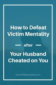 what to do after your spouse cheats