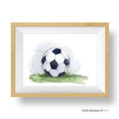 Soccer Ball Art Print (download)
