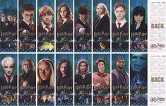 Harry Potter Bookmarks Printable | Free Printable Harry Potter bookmarks for those who still read books ...