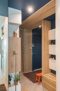 6 Best Kids Room Desk Ideas for Small and Large Spaces Interior Shutters, Interior Walls, Interior Design Living Room, Living Room Decor, Design Scandinavian, Room Partition Designs, Paris Apartments, Apartment Design, Interior Architecture