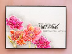 From Kristina Werner. Tips for Watercoloring with Zig Clean Color Real Brush Markers