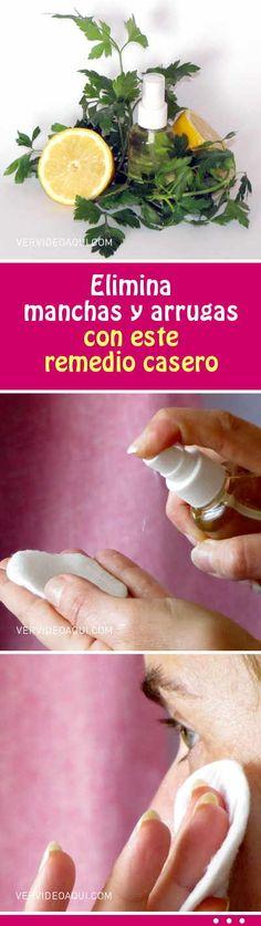 Elimina manchas y arrugas con este remedio casero