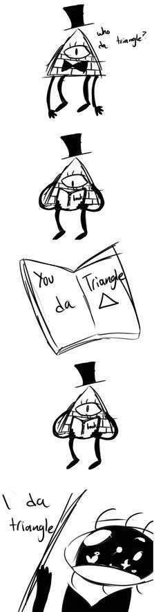 You da triangle by M-alfunction-ing.deviantart.com on @deviantART