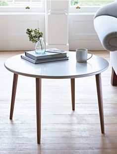 CoxandCox Larse Coffee Table is large enough for stacking the Sunday papers and holding your favourite drink on a morning of Valentines day.