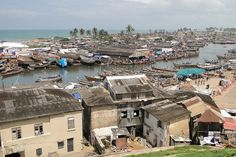 View over Elmina and Benya Lagoon from Fort St. Jago - Elmina - Ghana - 1 by Adam Jones, Ph.D. - Global Photo Archive, via Flickr