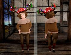 Aubrey Monday: I'm a Baby Reindeer! :D