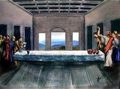 Jesus last supper beer pong LOL Tableau Pop Art, Arte Alien, Classical Art Memes, Religious Humor, Atheist Humor, Religious Art, Religion, Last Supper, Beer Pong