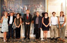 Con la Junta Directiva de la Coordinadora Valenciana de ONGD