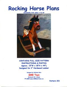 Woodworking Plans For Rocking Horse For Kids 201 Zebra