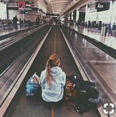 mientras esperas en el aeropuerto