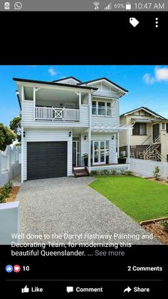 Queenslander, Exterior, Mansions, House Styles, Modern, Painting, Beautiful, Home Decor, Trendy Tree