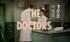 The Doctors is an American television soap opera which aired on NBC Daytime from April 1, 1963, to December 31, 1982.