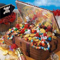 Pirate Treasure Cake!