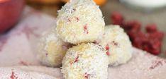 No-Bake Cranberry Orange Coconut Snowballs courtesy of The Healthy GF Life | Photo: Tammy Credicott