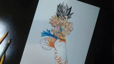 Speed Drawing Son Goku - DRAGON BALL Z / 孫悟空 - ドラゴンボール