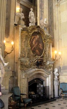 Castle Howard Great Hall Fireplace