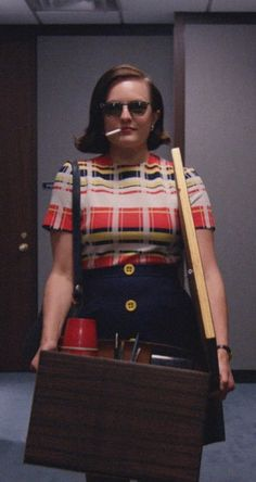 Peggy Olson makes power moves in Season 7 of Mad Men.