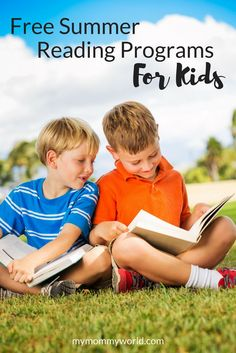 Help keep your kids' reading skills fresh with free summer reading programs for kids! Enrolling in a kids reading challenge during the summer will help motivate your kids to keep reading and give them fun rewards too. #summerreading #summeractivitiesforkids