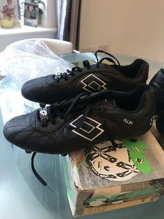 d3b6221518 Vintage Lotto Football Boots Uk 9.5 | eBay Lotto Football Boots, Soccer  Cleats, Soccer