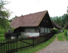 Vernacular Architecture, Traditional House, Czech Republic, Folk, Cottage, Houses, Cabin, Group, Country