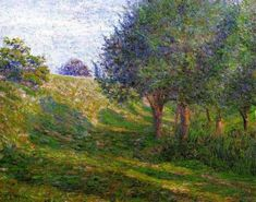 Late Afternoon - Giverny - Lilla Cabot Perry - unknown date